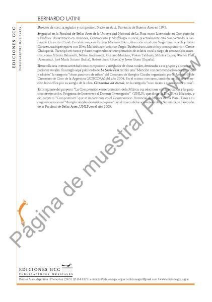 La sacha pera (B. Latini - coro de niños)
