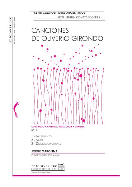 Canciones de Oliverio Girondo