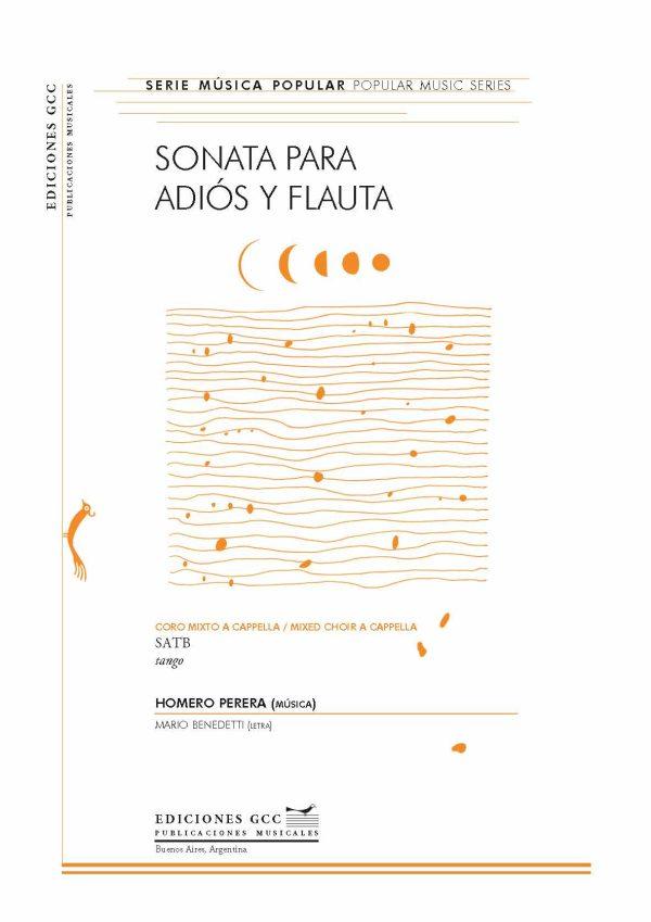 Sonata para adiós y flauta