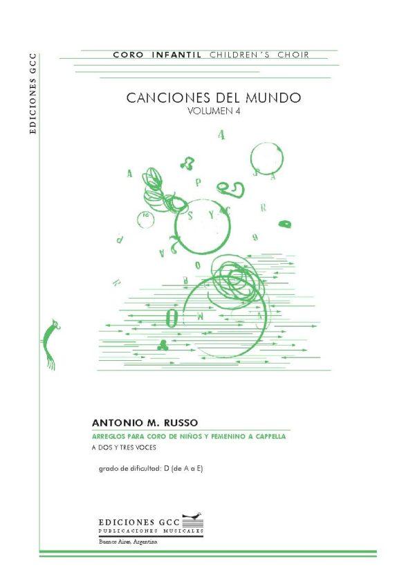 Canciones del mundo - volumen 4