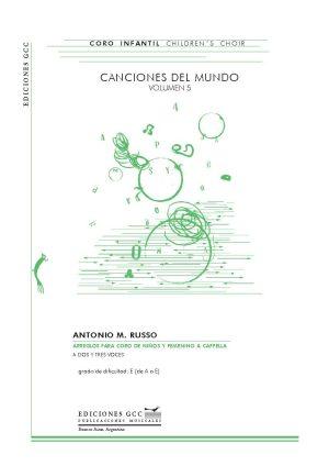 Canciones del mundo - volumen 5