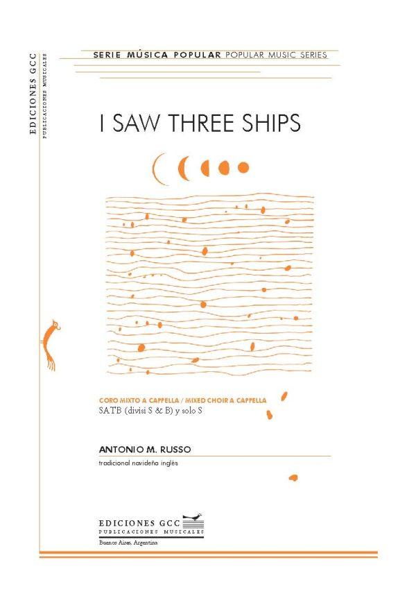 I saw three ships (coro mixto)