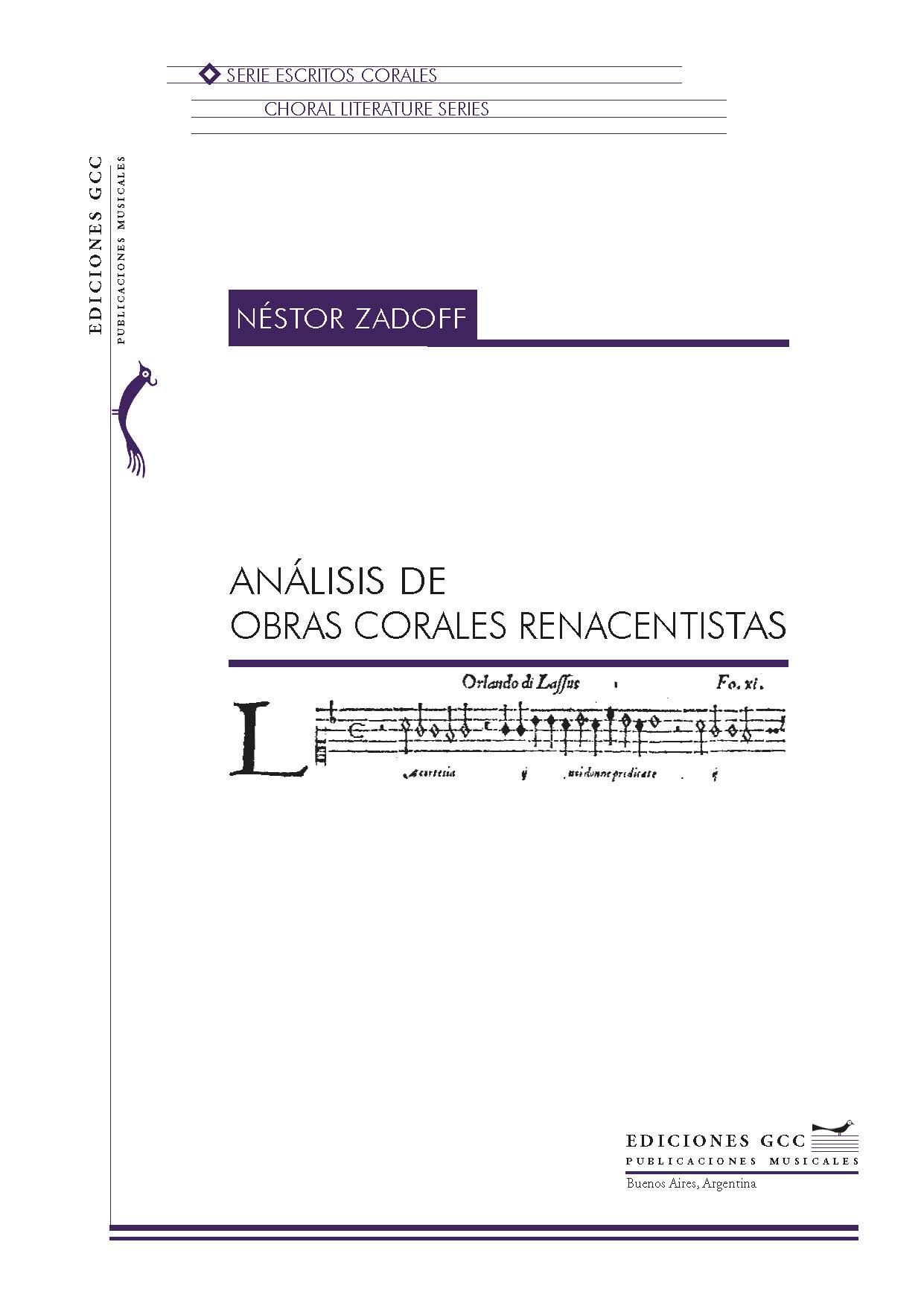 Análisis de obras corales renacentistas